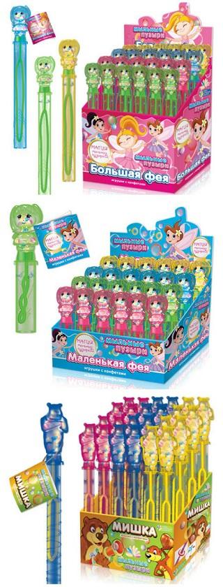 Новогодние мягкие игрушки с конфетами для детей оптом и в ...